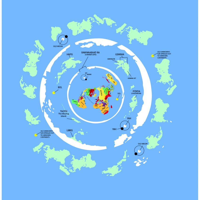more land - Antarctica outer regions