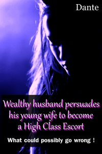 Wealthy husband persuades his young wife to become a High Class Escort